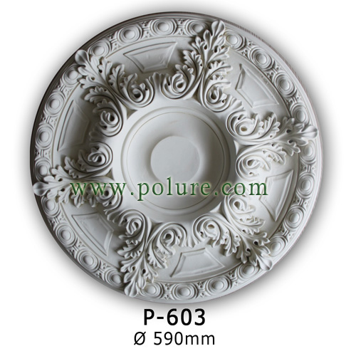 P-603-polyurethane-decorative-ceiling-rose-molding-motif-model-pu