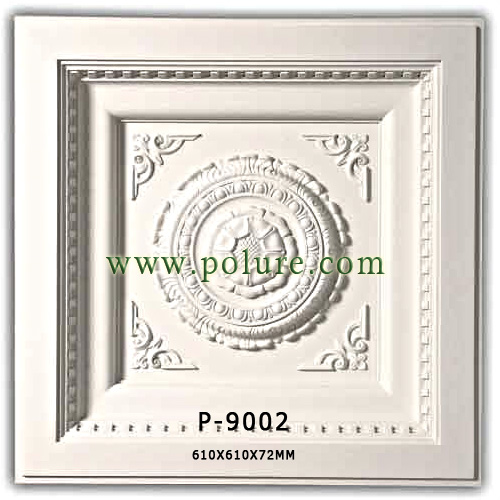 P-9002-polyurethane-decorative-square-dome-model-for-ceiling-pu-moulding-decoration-price