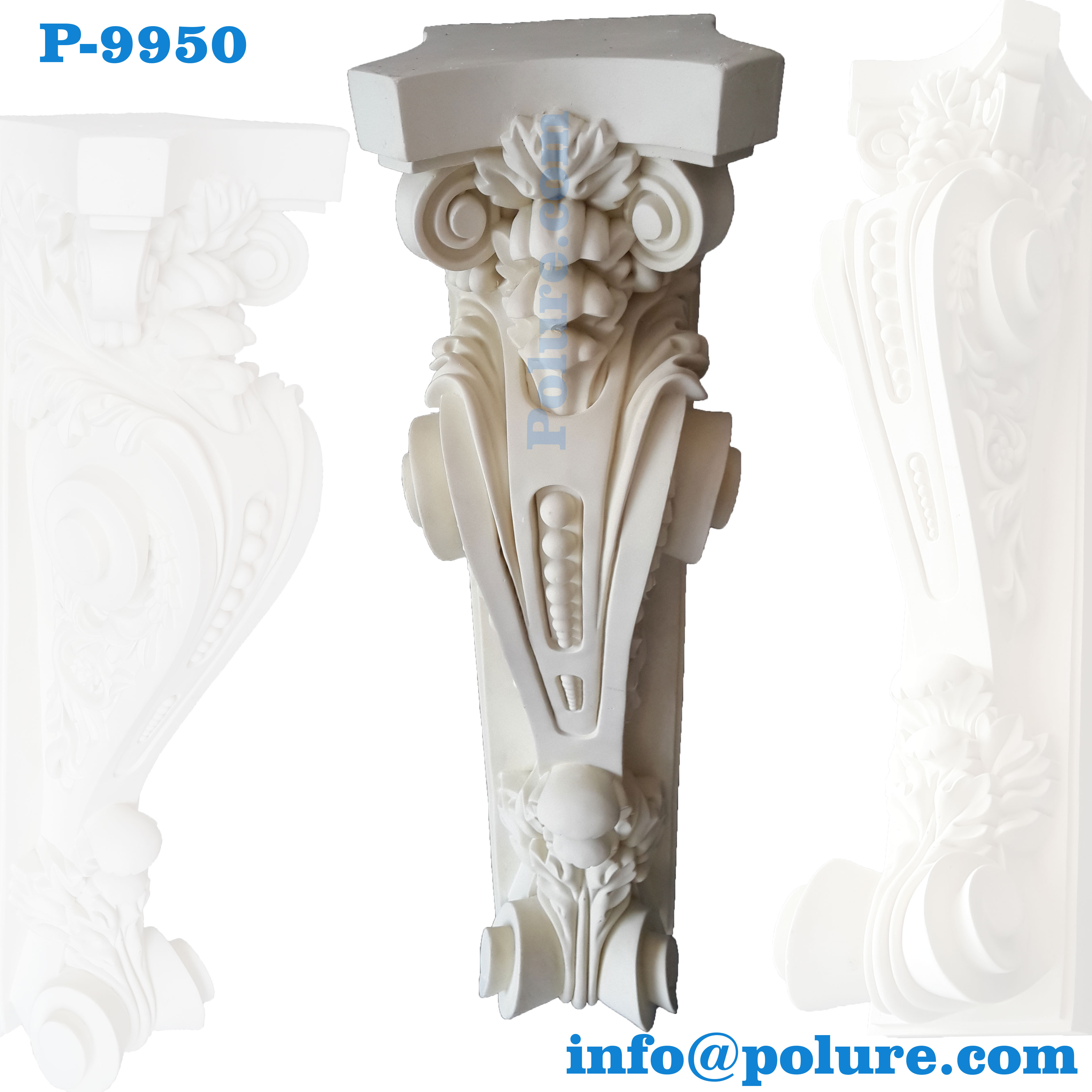 P-9950-polyurethane-classic-decorative-corbel-moulding-interior-exterior-decoration-pu (4)