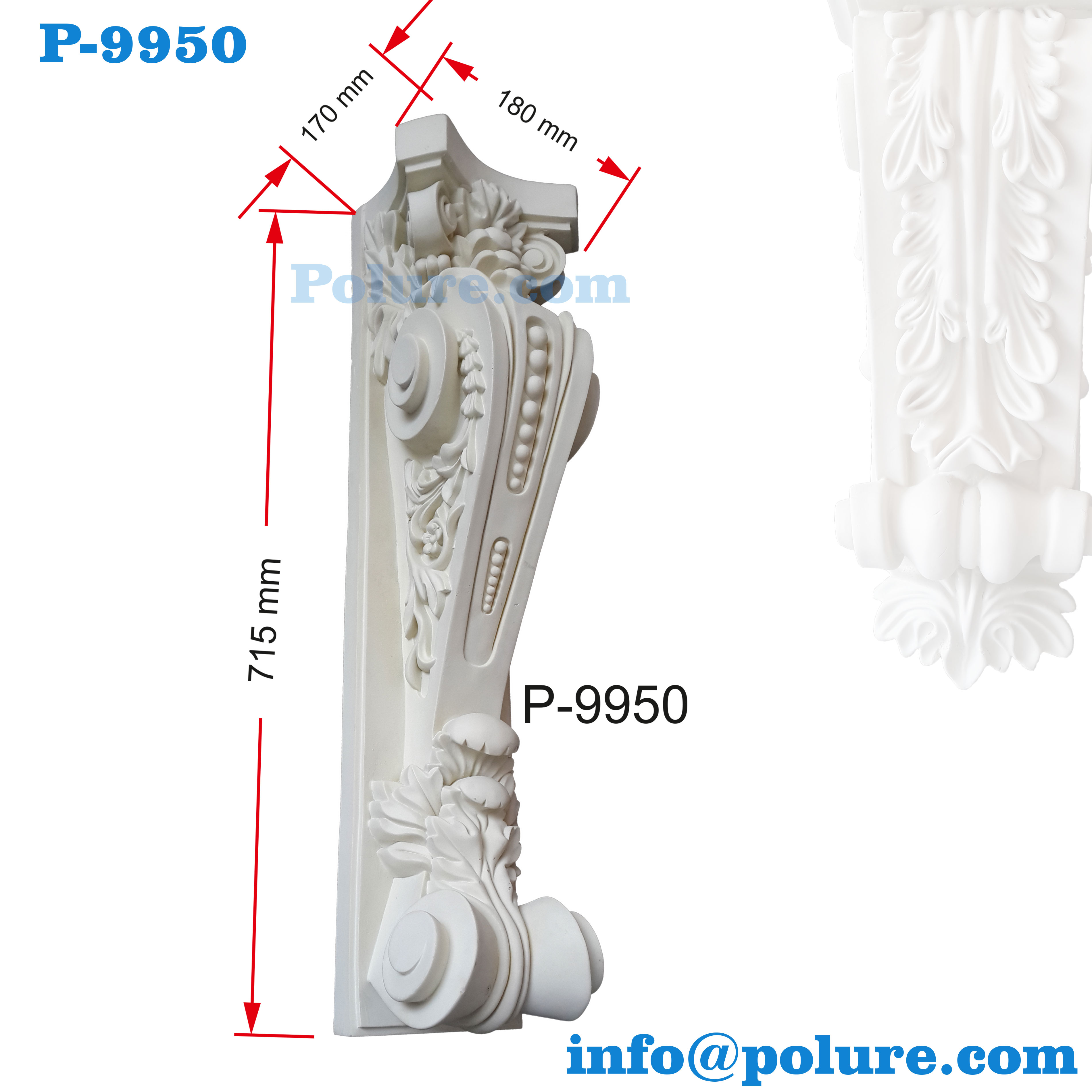 P-9950-polyurethane-classic-decorative-corbel-moulding-interior-exterior-decoration-pu (7)