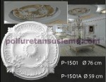 p-1501-polyurethane-foam-ceiling-rose-heart-leaf--motif-moulding-pu-model