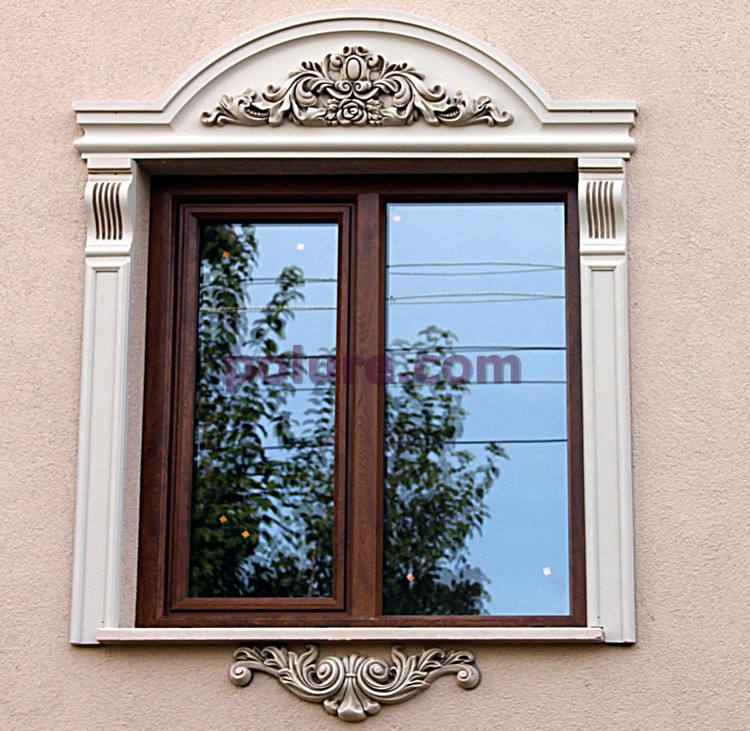 P 2832 Polyurethane Door And Window Crown Moulding Model