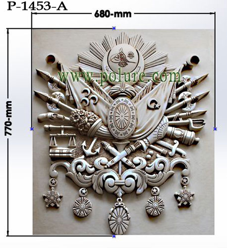 polyurethane-ottoman-state-decorative-arming-tughra