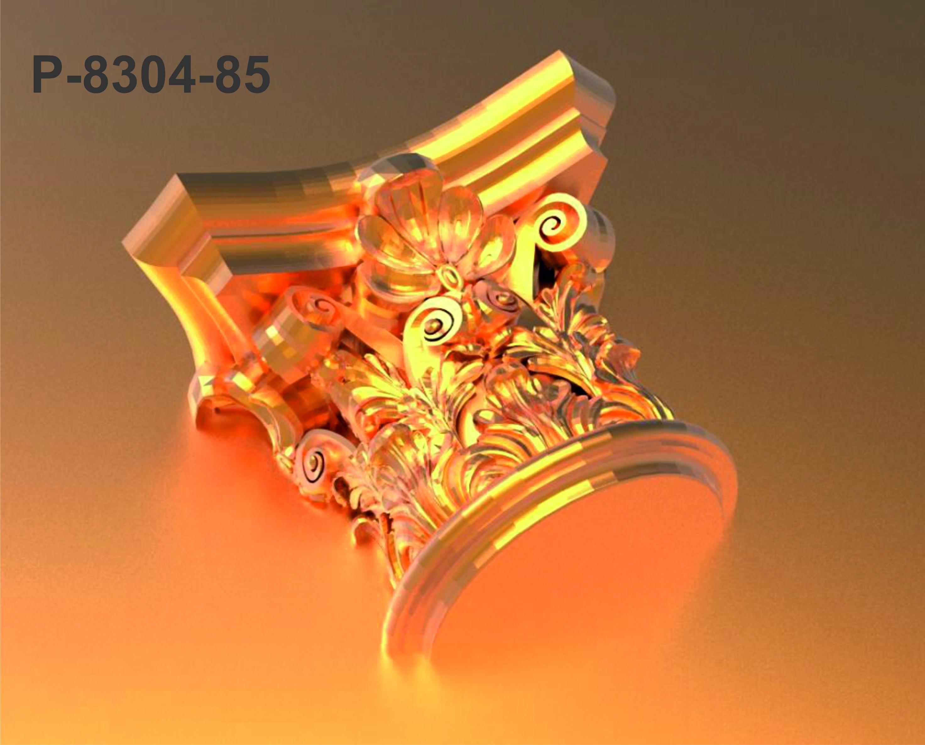 p-5285-polyurethane-decorative-85-cm-diameter-gold-leaf-coated-column-capital-pu-molding-decoration-base-fluted-plain-corinthian-models